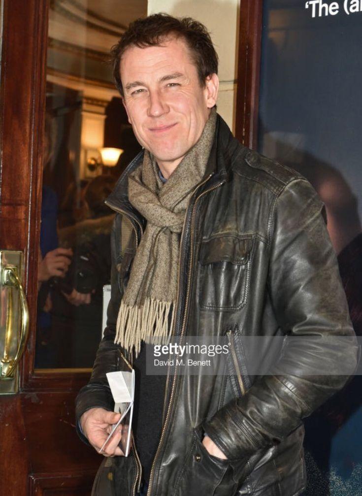 """. @TobiasMenzies attending press night performance of ´Beginning' at the Ambassadors Theatre in London on Jan 23, 2018"""