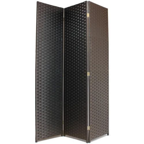 Hand Made Woven Wicker Room Divider Seperator Panelprivacy Screen Partition | eBay