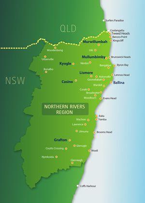 Northern Rivers region