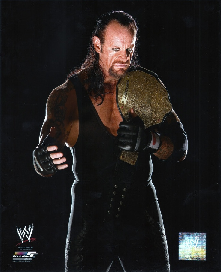 "( 2016 ) CELEBRITY MAN from WWE ★ The UNDERTAKER ) ★ Mark William Calaway - Wednesday, March 24, 1965 - 6' 10"" 299 lbs - Houston, Texas, USA."