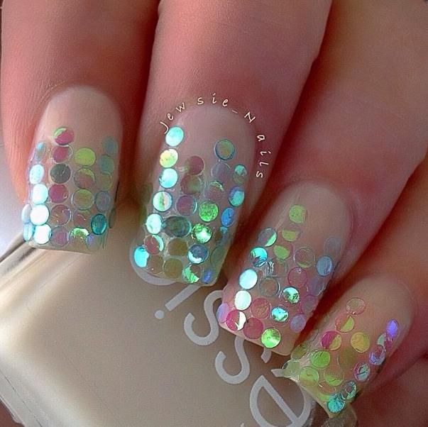 @Jill Meyers Worswick maybe something like this with that fab glitter???