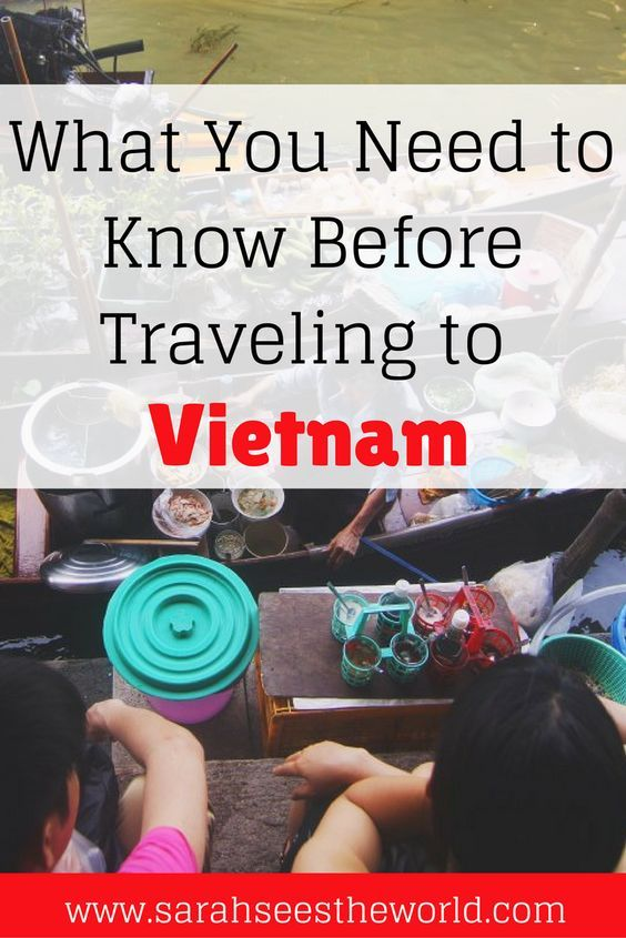 If you're planning a trip to Vietnam, there are some things you need to know before you go. Check out the three things you need in order to travel there and how to get them. This is something you will definitely want to save to your travel board.   board. https://sarahseestheworld.com/before-you-travel-to-vietnam/