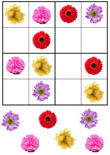 Sudoku de fleurs