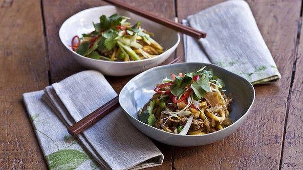 Chow Mein Style Pork