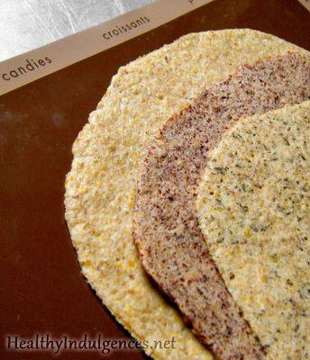 Gluten-Free, Low Carb Wraps