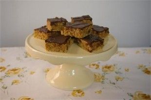 Chocolate orange flapjack...yummmmy