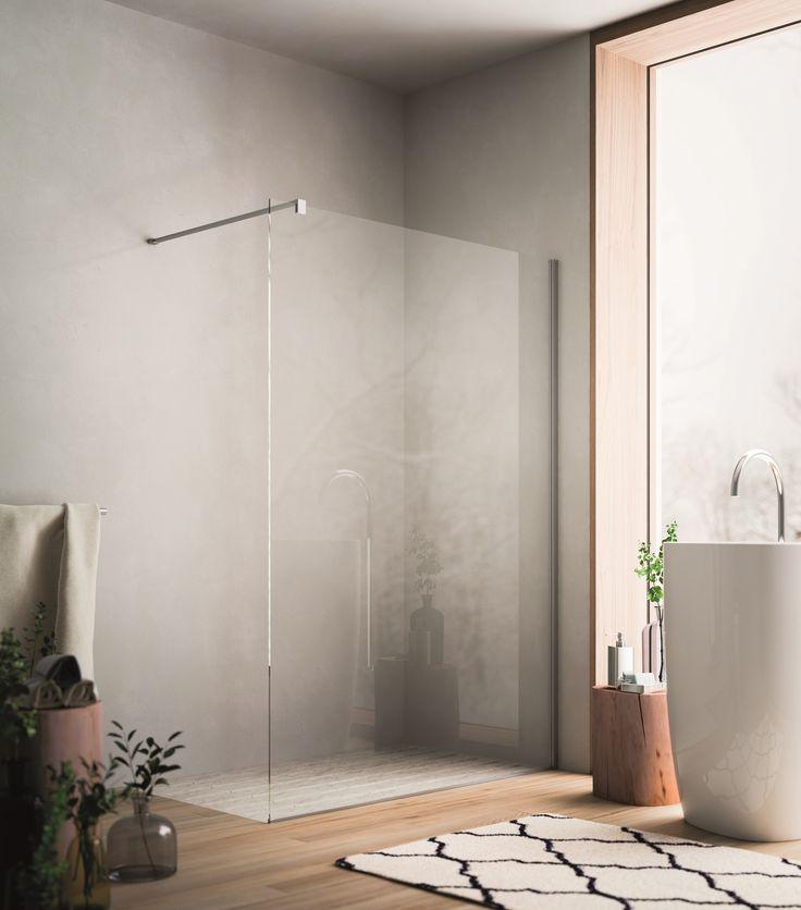 Porta per doccia in cristallo SOHO Collezione Showering by Glass 1989