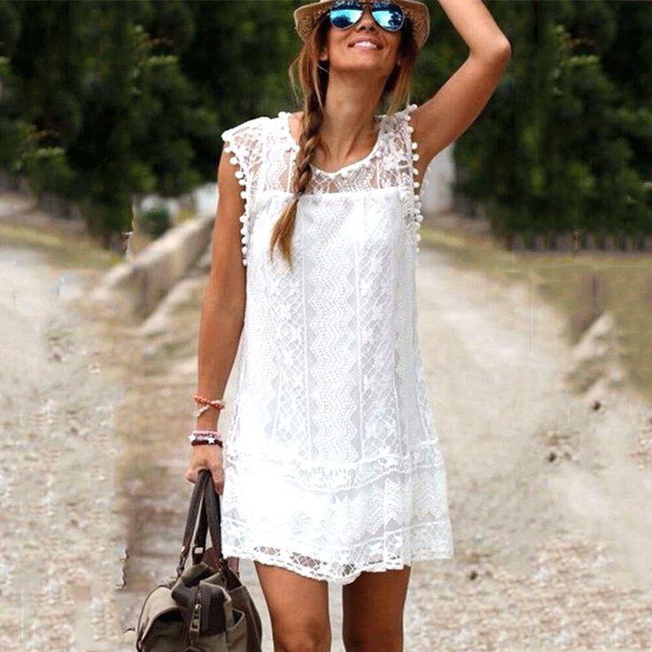 Casual Sleeveless Dress