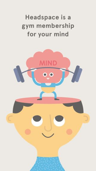 With cool their cool design and easy to follow 10 minute meditation, the Headspace app is great for anyone wanting to start making meditation part of their daily routine.