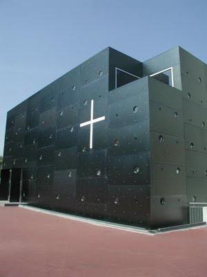 Vienna, Austria. Christus Hoffnung der Welt (The Church of Christ, Hope of the world).