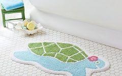 Interesting Turtle Bath Mat