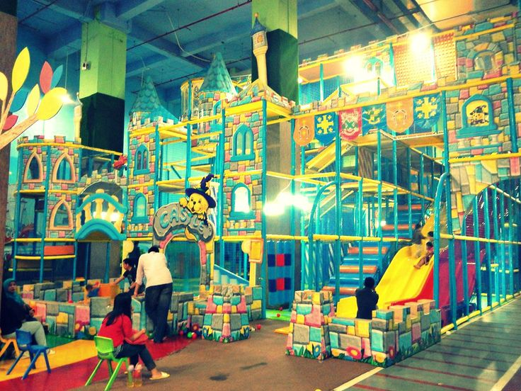 Castle Playground - Lollipops Playland, Lotte Shopping Avenue, Jakarta, Indonesia