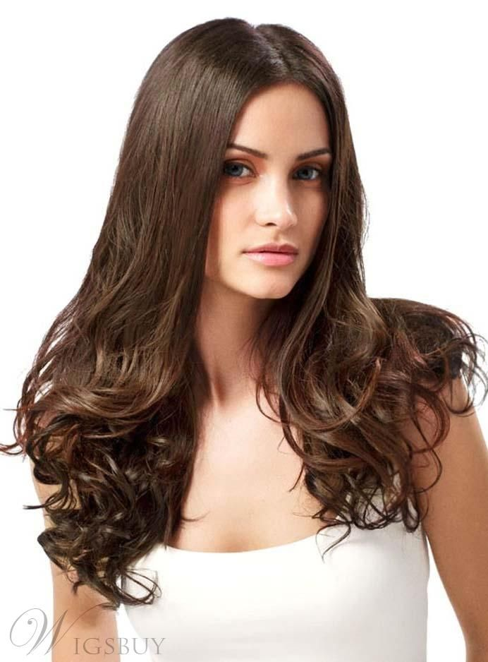 #WigsBuy - #WigsBuy Glamorous Long Bottom Curly Lace Front Human Hair Wig 24 Inches - AdoreWe.com