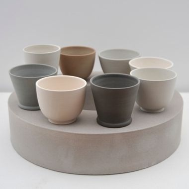 Julian Stair: Eight Cups on a Circular Ground. 2014