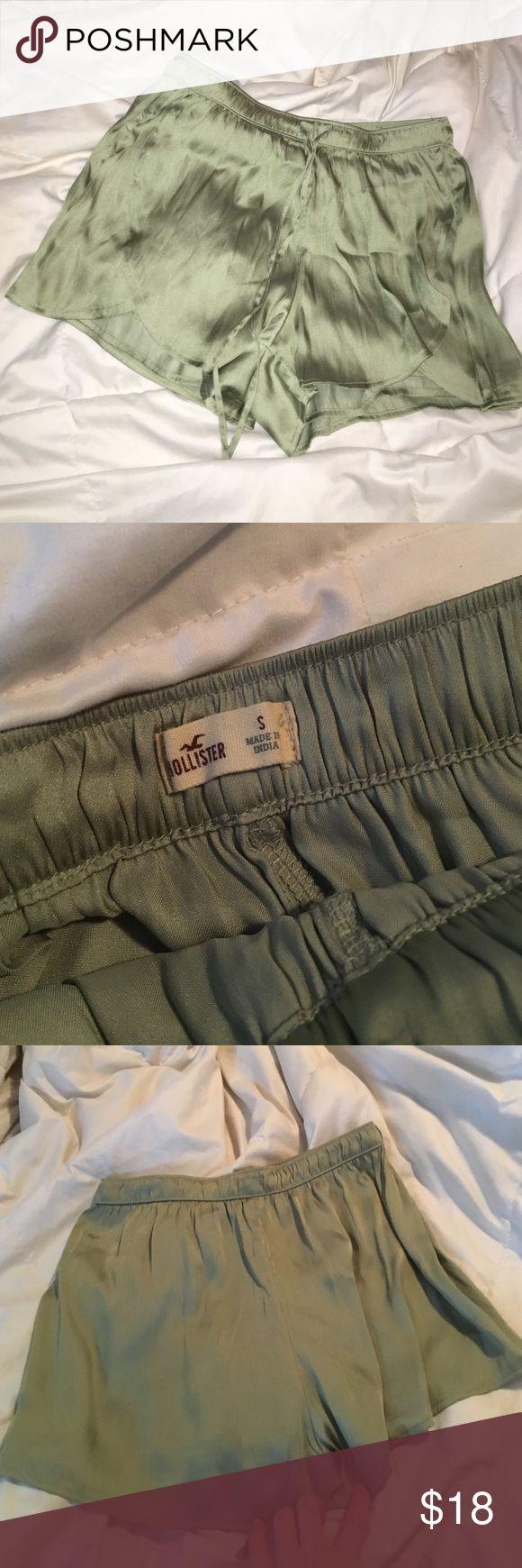 Satin flowy shorts Amazing satin shorts, the most comfortable shorts ever. Hollister Shorts