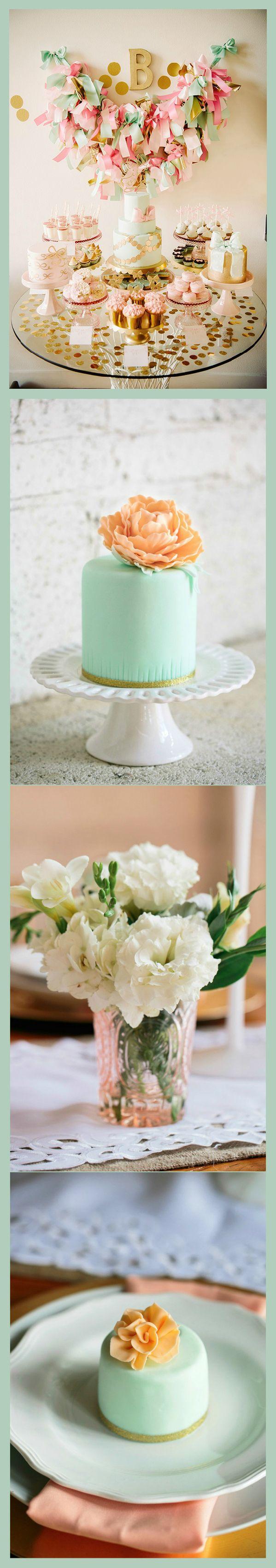 Beautiful colors: Dessert Table Decorations