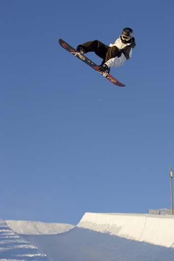 Shawn White --snowboarding