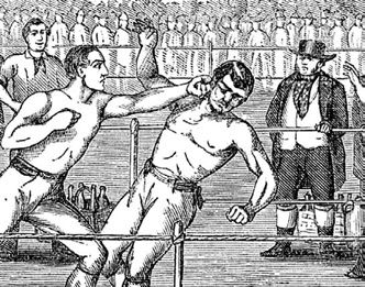 Bare-knuckle Boxing:   A Mill, 1878 and All for Love, at The Angel   A Mill, 1878 For those of you that are expecting an article about windmills  you are to be disappointed! The 'Mill' in this case is a 19th Century expression for a bare-knuckle boxing match. The one in question took place ...