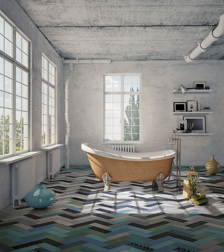 Bathtub on Mix and Match collection by Ornamenta