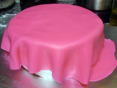 how to cover a cake with fondant tips!