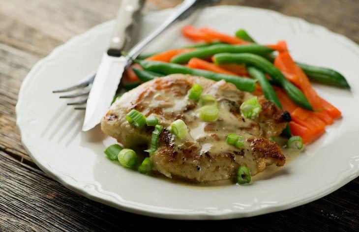 Chicken with Brandy Mustard Cream Sauce   Chicken/Turkey Recipes   Pi ...
