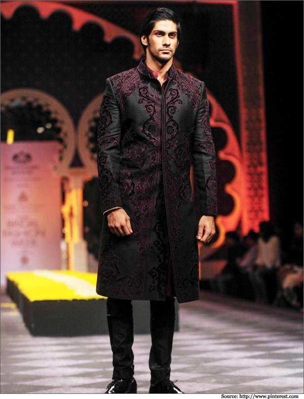 Best Indo Western Sherwani Designs Groom Sherwani