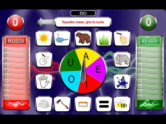 Gioco prescolare - Associazione fonema grafema (Android)