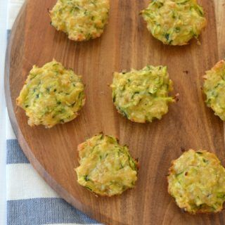 Zucchini and Cheese Mini Muffins