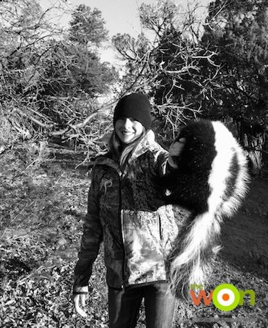 How to improve turkey population http://www.womensoutdoornews.com/2014/03/improve-turkey-population/ Turkey hunting, merriams turkey, skunk, black and white, turkey habitat tips Hunting, shooting, fishing and adventure for women by women Mia Anstine, Mia and the Little Gal