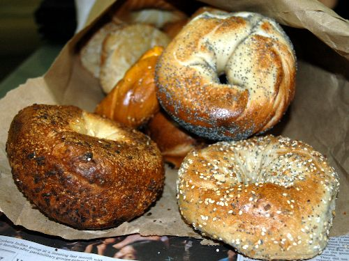 Ess A Bagel, NYC  It's what's for breakfast a week post NYC visit!  Missing the city today!