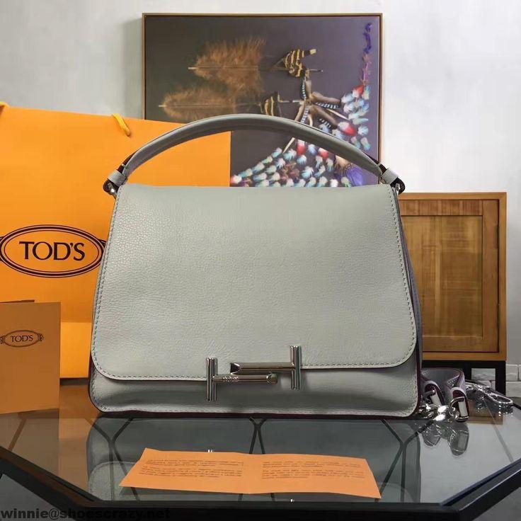 Double T studded crossbody bag - White Tod's v6KSbl