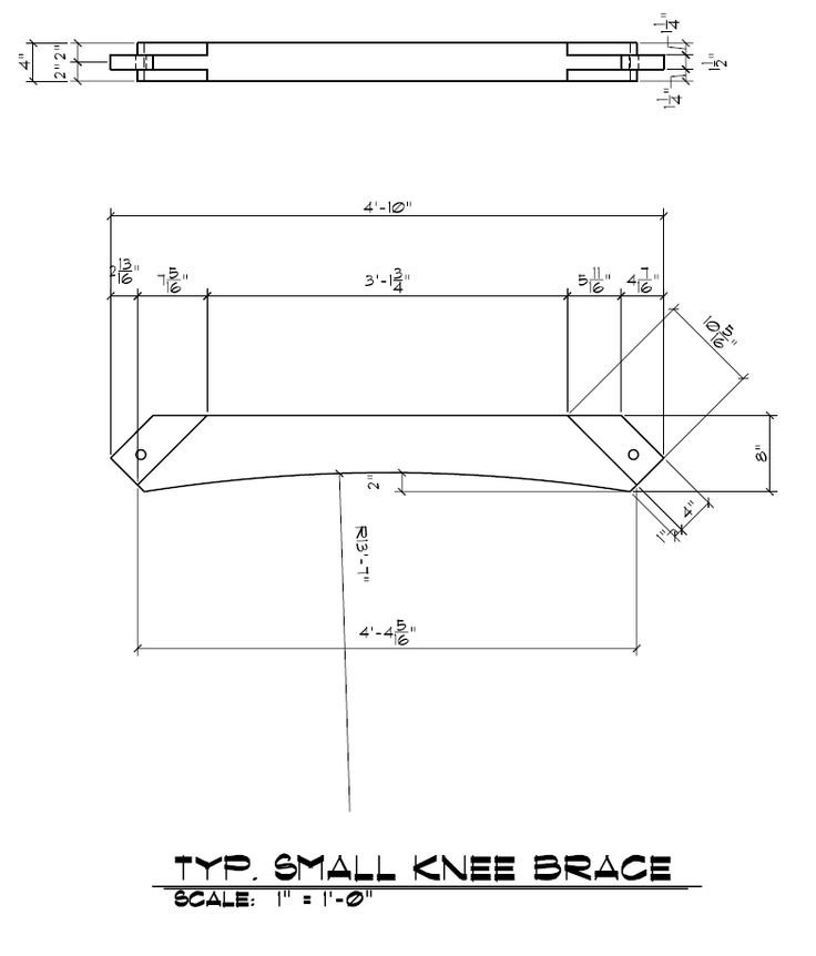 how to make a knee plate connection revit