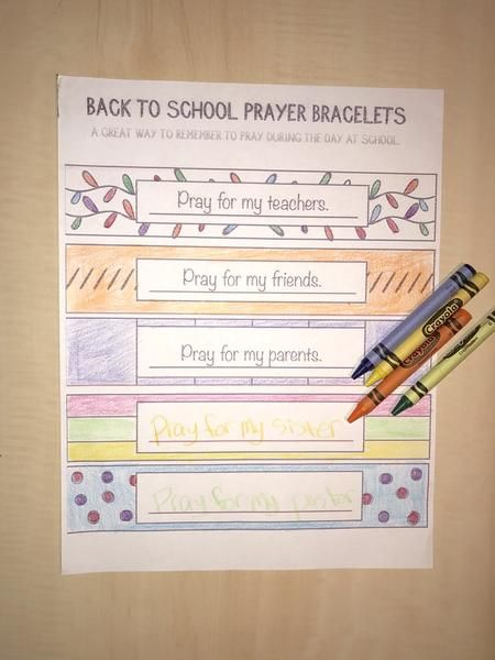 Prayer Bracelet Coloring Page Holidayparty Ideas Pinterest