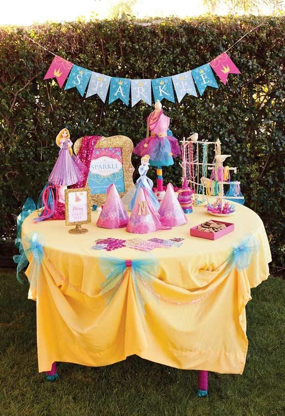 Prinzessin Party Tipps Zum Dekorieren Mit Diesem Thema So Lieb