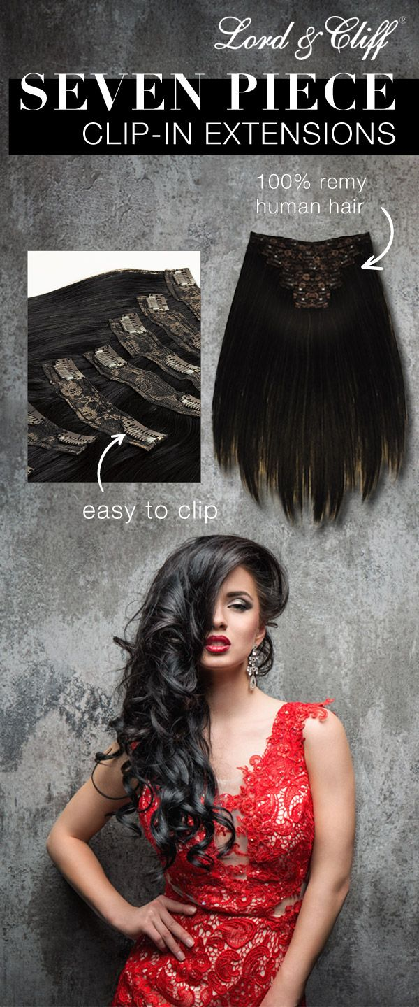 164 best lord cliff hair extensions images on pinterest hair add length and volume to your hair with our seven piece clip in extensions pmusecretfo Choice Image