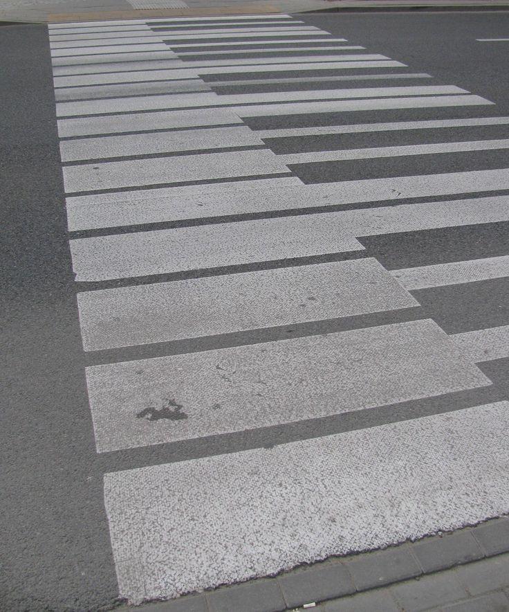 Pedestrian Crossing, Warsaw