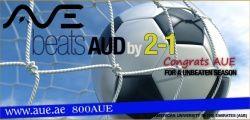 AUE Football Team