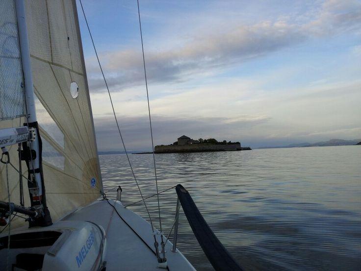 Seiling i Trondheimsfjorden