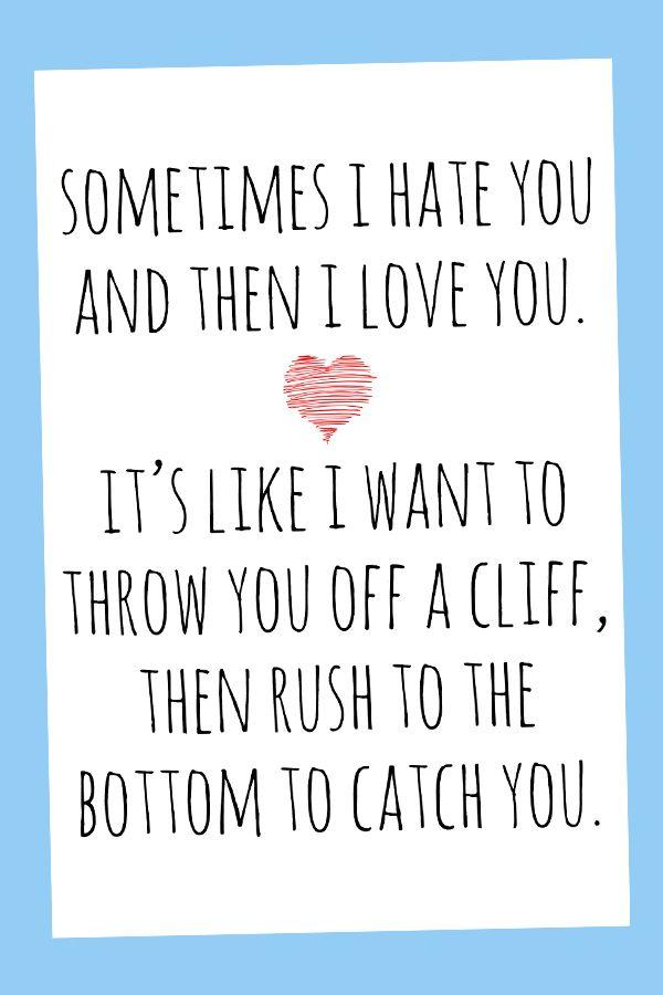 Funny Love Cards For Him Cute Birthday Card For Boyfriend Anniversary Card Him Romantic Card Husband Funny Birthday For Her Printable Funny Love Cards Love Cards For Him Birthday Cards For