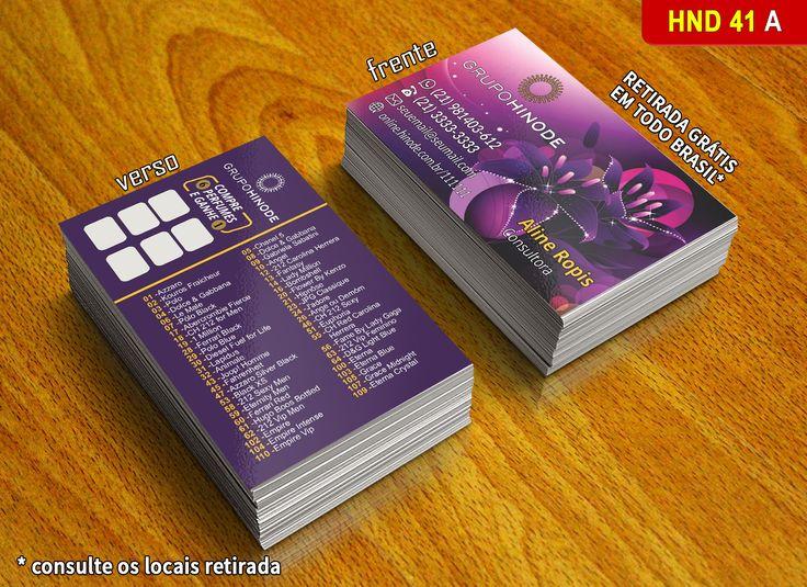 Cartão de Visita Criativo Grupo Hinode. Os melhores preços do BRASIL você encontra aqui na XDART!