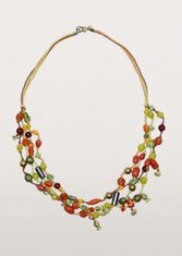 Beads and Fishes Necklace