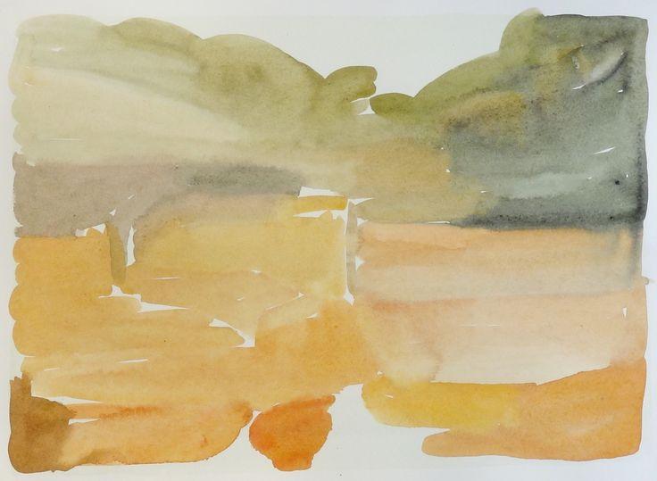 Bo Ljungcrantz,akvarell, 25x35cm
