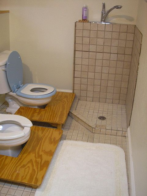 How to alter a toilet for preschool-size kiddos, while still keeping the regular size toilet. LOVE this idea!