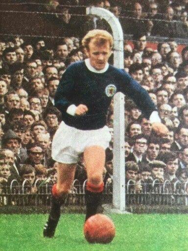 Billy Bremner of Scotland in 1967.