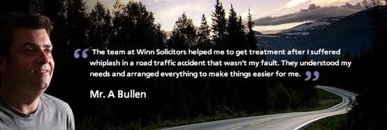 Testimonial | www.winnsolicitors.com