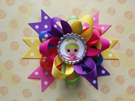 Lalaloopsy hair bow also available sofia the first by bellecaps, $3.75