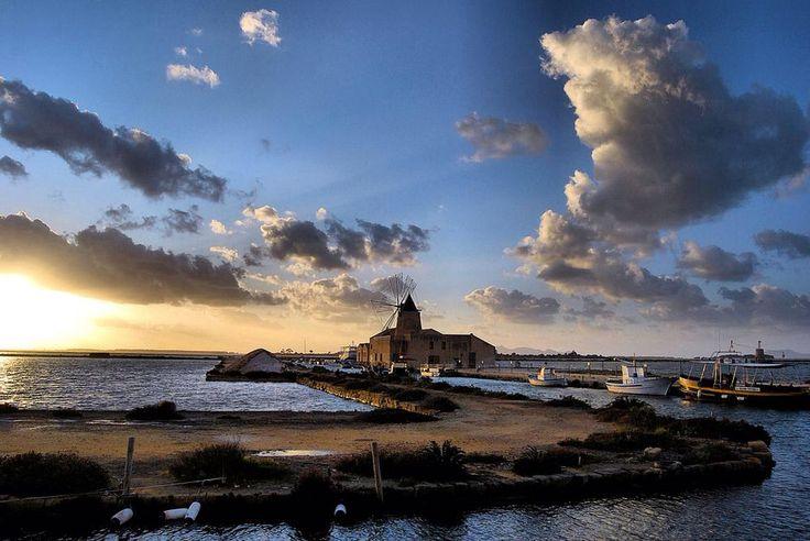 Saline Marsala, Sicilia