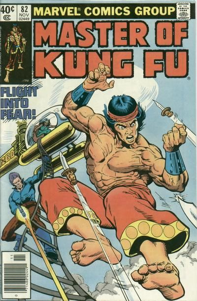 Master of Kung Fu # 82 by Mike Zeck & Gene Day