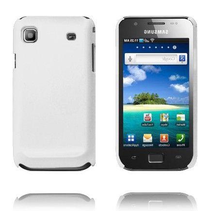 Hard Shell (Valkoinen) Samsung i9003 Galaxy SL Suojakuori