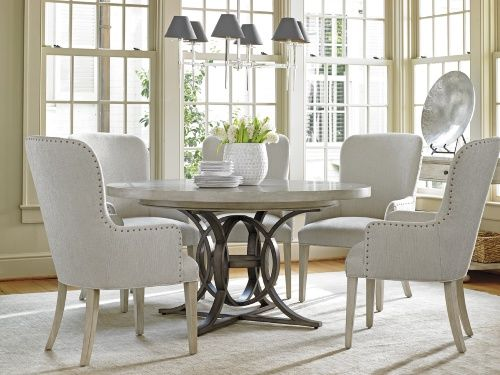 17 Best ideas about Round Dining Table Sets on Pinterest Rustic